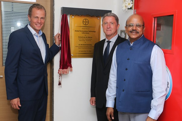 Bayer Vapi FT Lab inauguration